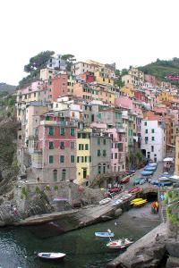 A colourful Cinque Terra village