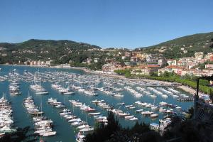 Overlooking Lerici harbour